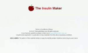 Theinsulinmaker.net thumbnail