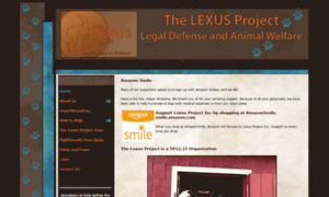 Thelexusproject.org thumbnail