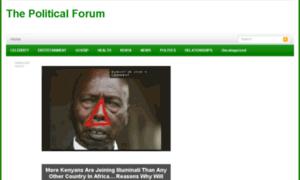 Thepolitical-forum.info thumbnail