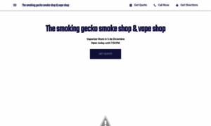 Thesmokinggeckosmokevapeshop.business.site thumbnail