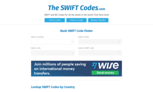 Theswiftcodes.net thumbnail