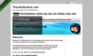 Thunderbrowse.com thumbnail