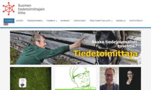 Tiedetoimittajat.fi thumbnail