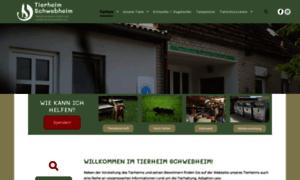 Tierheim-schwebheim.de thumbnail