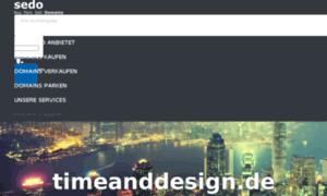 Timeanddesign.de thumbnail