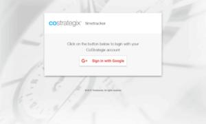 Timetrack.costrategix.net thumbnail