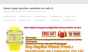 Tissot-copy-watches.watchesonsale.it thumbnail