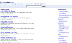 Tnvelaivaippu.co.in thumbnail