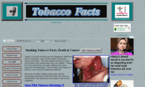 Tobacco-facts.info thumbnail