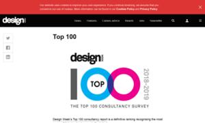 Top100.designweek.co.uk thumbnail