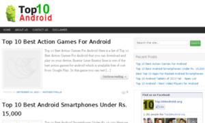 Top10android.org thumbnail