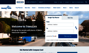 Translink.ca thumbnail