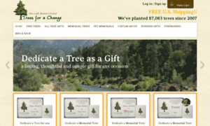 Treesforachange.com thumbnail