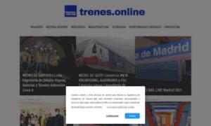 Trenes.online thumbnail