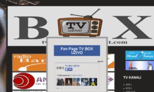 Tvboxuzivo.blogspot.ch thumbnail