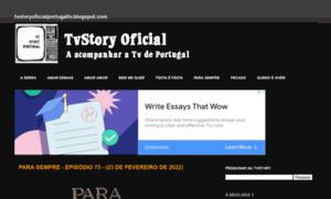 Tvstoryoficialportugaltv.blogspot.pt thumbnail