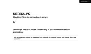 Uet.edu.pk thumbnail