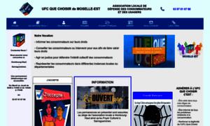 Ufc-quechoisir-moselle-est.org thumbnail