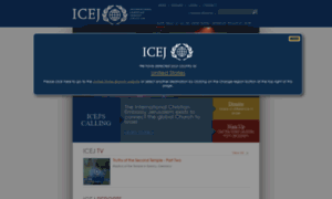 Uk.icej.org thumbnail