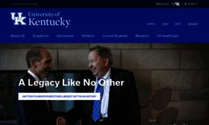 Uky.edu thumbnail