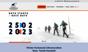 Ultramaratonkarkonoski.pl thumbnail