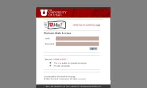 Umail.utah.edu thumbnail