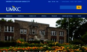 Umkc.edu thumbnail