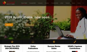 Unam.edu.na thumbnail