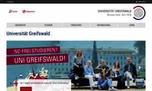 Uni-greifswald.de thumbnail