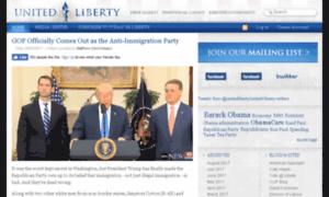 Unitedliberty.org thumbnail
