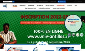 Univ-antilles.fr thumbnail