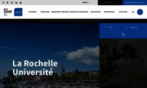 Univ-larochelle.fr thumbnail