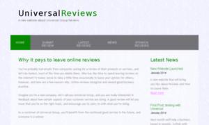 Universalgroupreviews.co.uk thumbnail