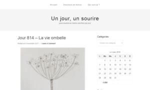 Unjourunsourire.fr thumbnail