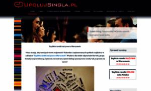 Upolujsingla.pl thumbnail