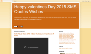 Valentinewallpapersmessages.blogspot.in thumbnail