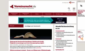 Vereinsrecht.de thumbnail