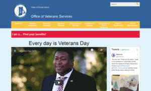 Vets.ri.gov thumbnail