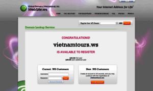 Vietnamtours.ws thumbnail