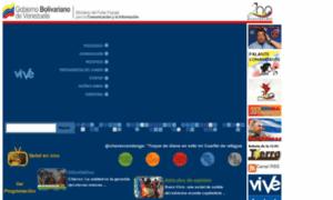 Vive.gov.ve thumbnail