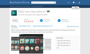 Vsdc video editor free edition