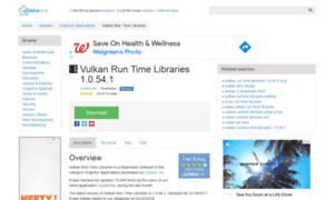 vulkan run time libraries 1.0.11.1 what is it