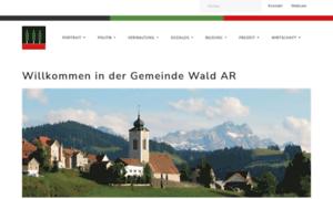 Wald-ar.ch thumbnail