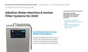 Waterionizermachinereviews.com thumbnail