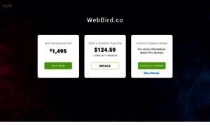 Webbird.co thumbnail
