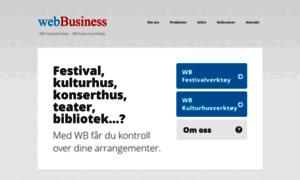 Webbusiness.no thumbnail