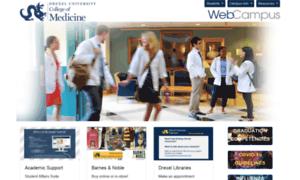 Webcampus.drexelmed.edu thumbnail
