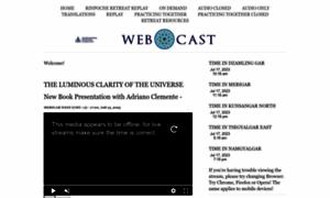 Webcast.dzogchen.net thumbnail