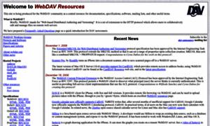Webdav.org thumbnail