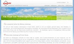 Webdesign-webdesigner-berlin.de thumbnail